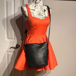 Bucket Leather Shoulder Purse Boho Bohemian Casual